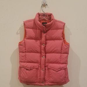 J. Crew 'Pretty in Pink' Puffer Vest